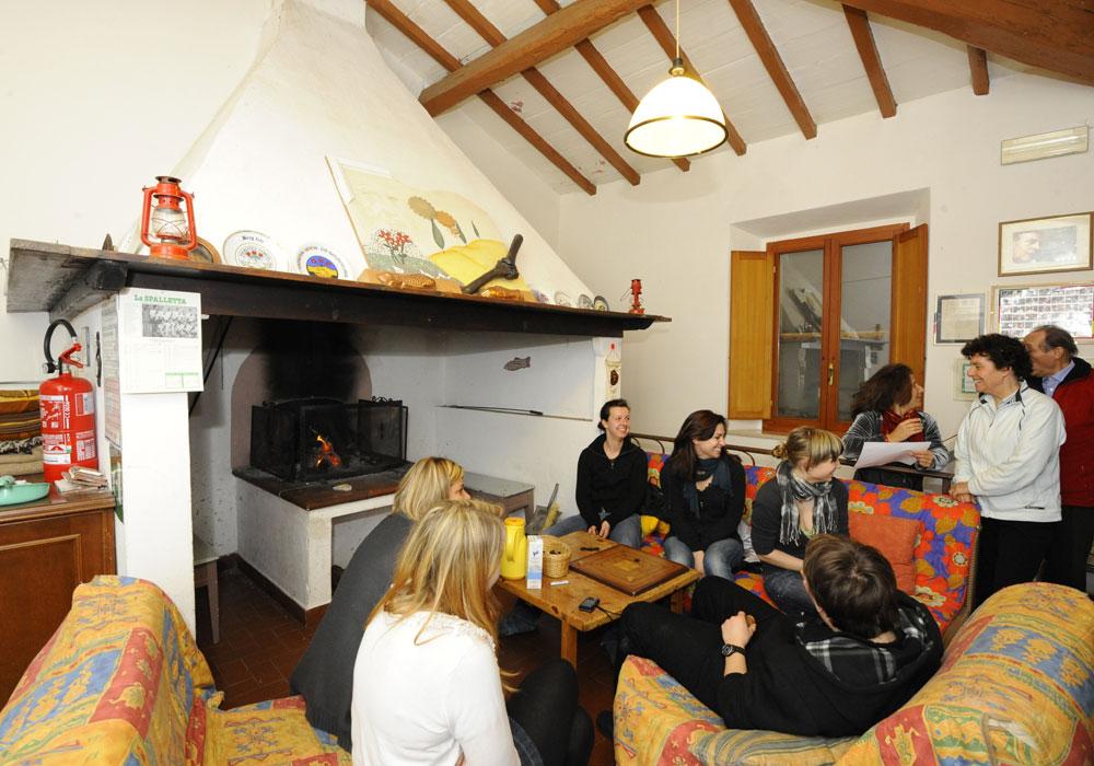 Casa per ferie Ecoturismo Il Vile Volterra - Struttura interna