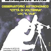"""""""Impariamo il Telescopio"""" – 2019"""