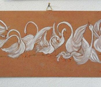 Disegno Giovanni Ticciati artista di Volterra