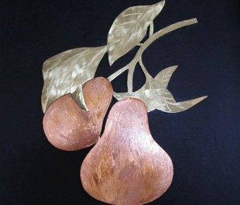 Quadri in lamine di metallo di Giovanni Ticciati artista di Volterra