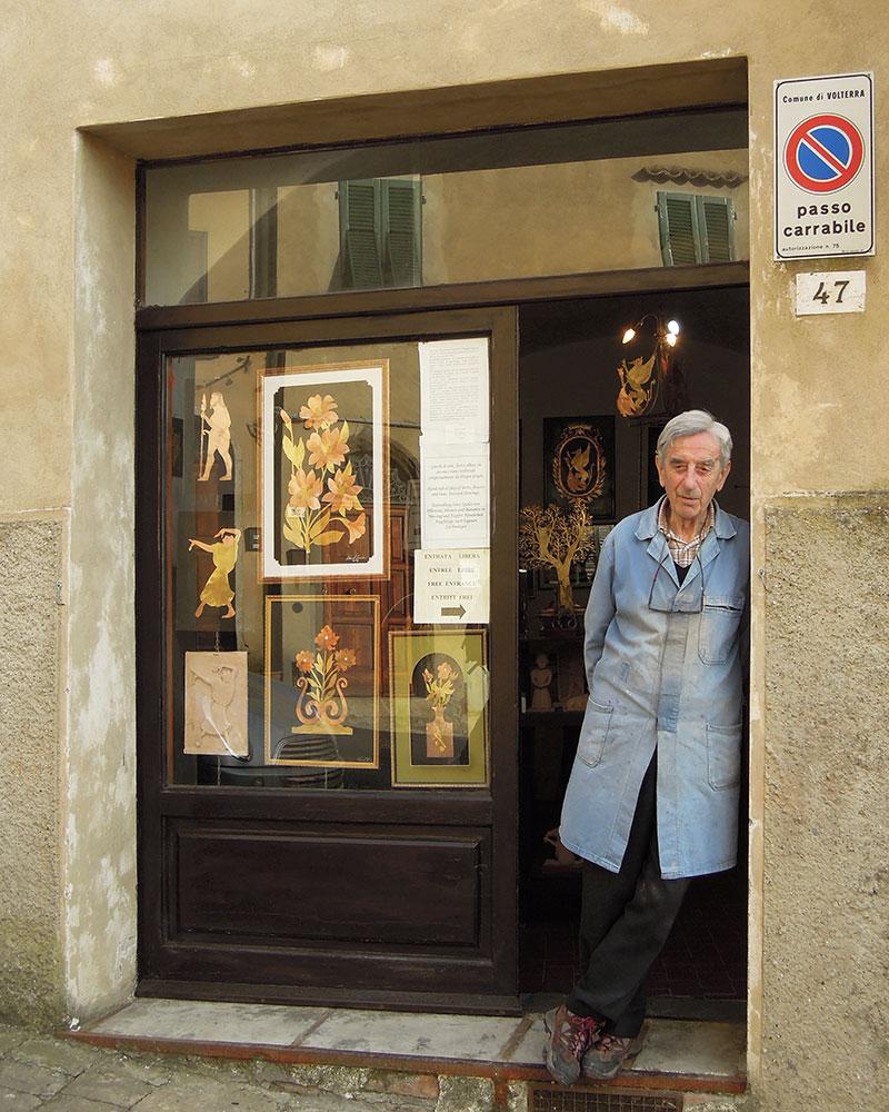 Giovanni Ticciati Volterra artista